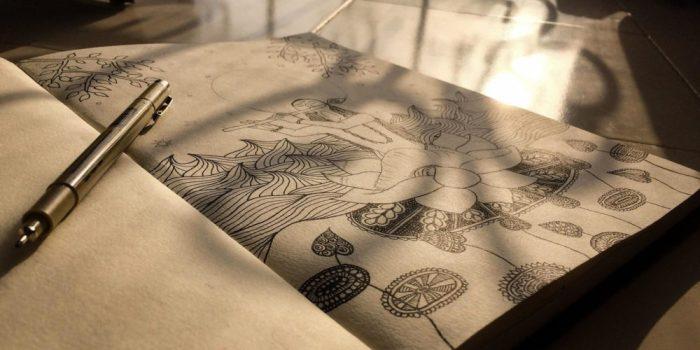Sve što nam je potrebno za zentangle su papir i olovka - Psiholog Viktorija