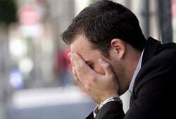 депрессия у мужчин фото