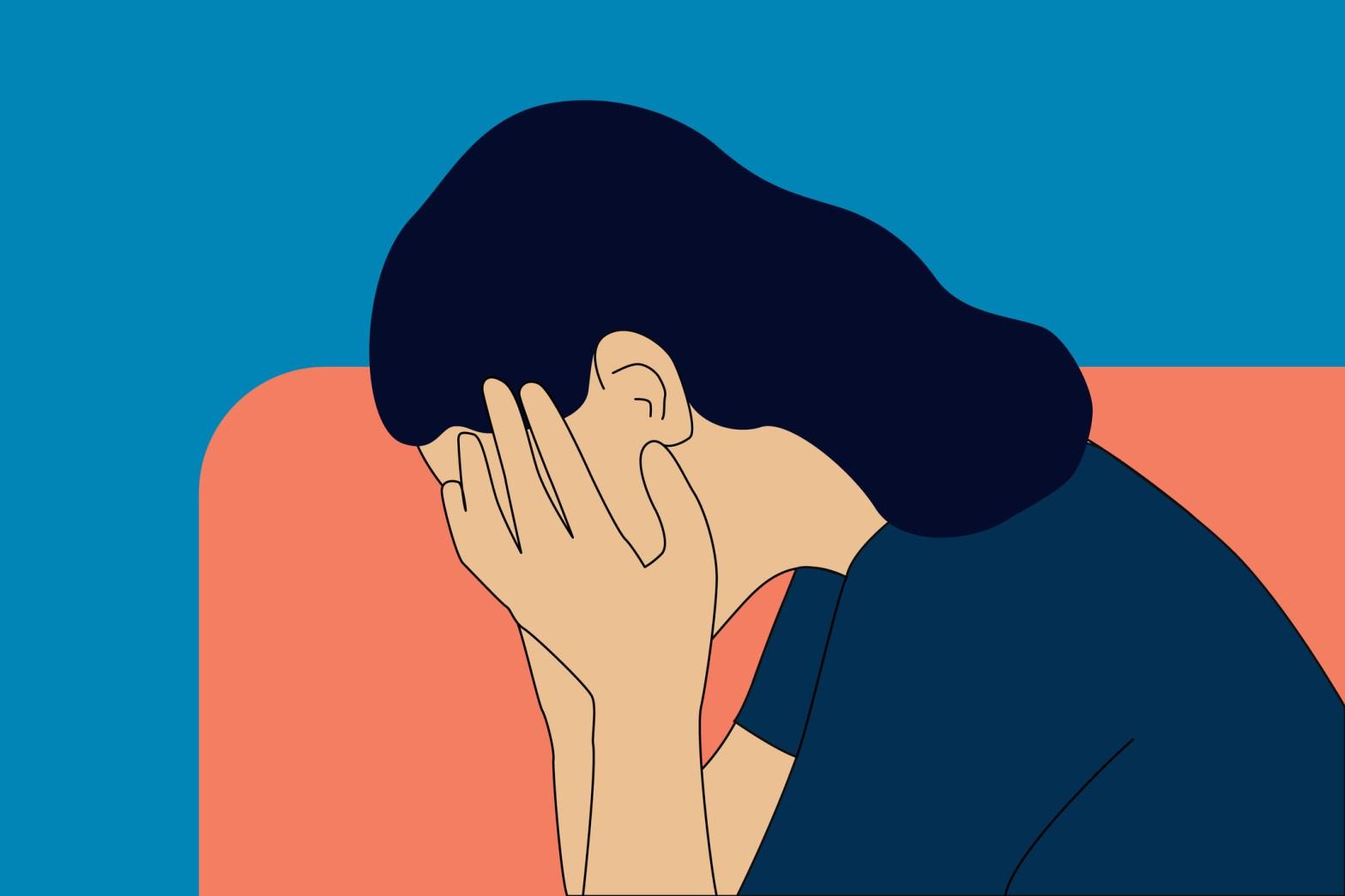 tristete, durere, trauma simbiotica trauma iubire