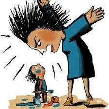 bağıran anne, eleştirel ebeveyn, cezalandırıcı ebeveyn