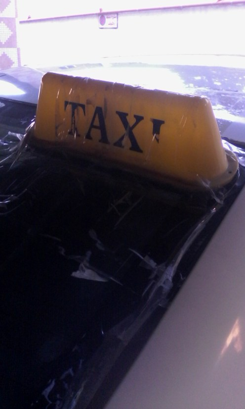 very, very reliable looking taxi