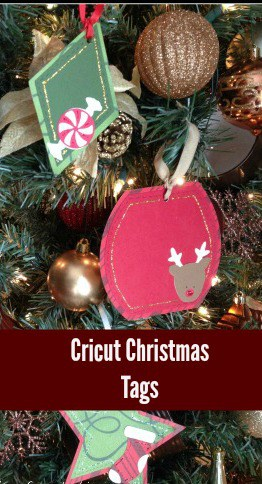 Cricut Christmas Tags - Have you used your Cricut for making tags? There are lots of possibilities and ways to decorate them. You can use Cricut tags on wine bottles, gift bags, and on your Christmas Tree.