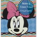 Cricut Minnie Mouse Card