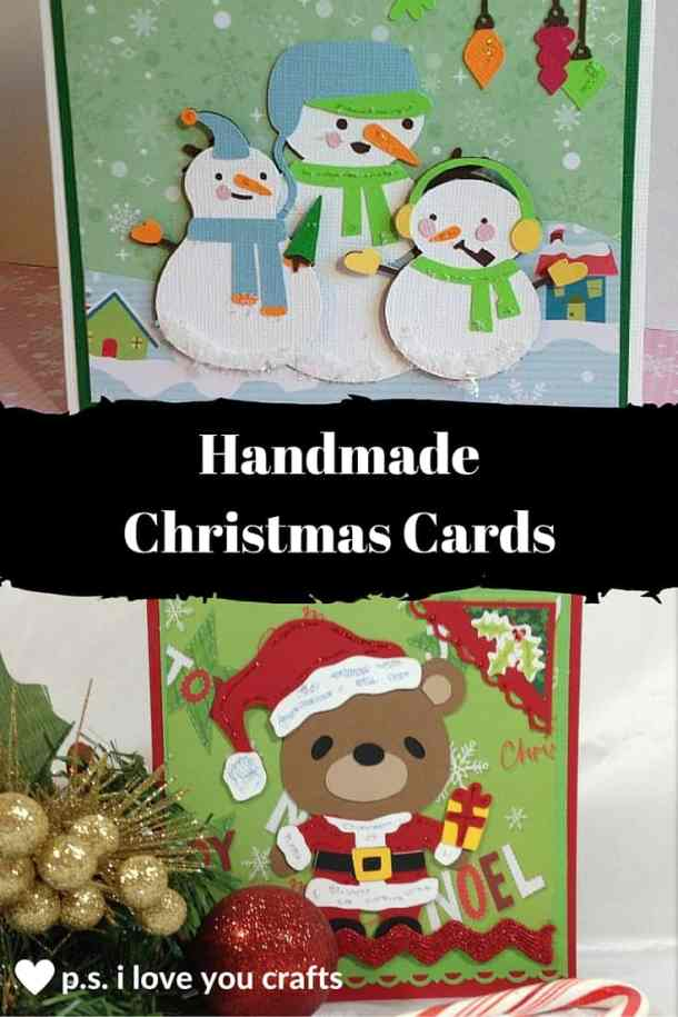 Here are lots of ideas for Handmade Christmas Cards. They can be easy and simple or they can be complex. Rubber stamps, Cricut die cuts, the Spellbinder, and punches are all great tools when creating Christmas Greeting Cards.