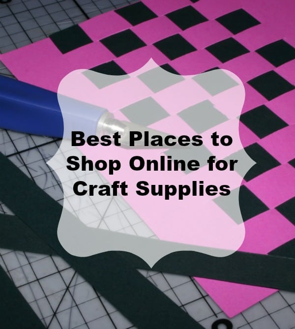 Here is a great list of Online Craft Stores. These are only stores where I have placed orders and have been 100% satisfied. Shop for craft supplies online from the comfort of your own home, in your pajamas!