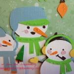 Snowman Card Using the Explore