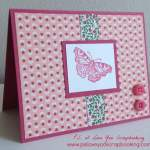 Easy Butterfly Note Card