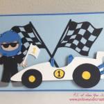 Cricut Racecar Card