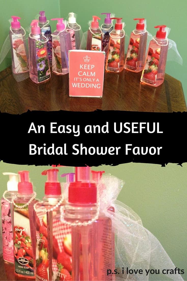 easy diy bridal shower favors ps i love you crafts