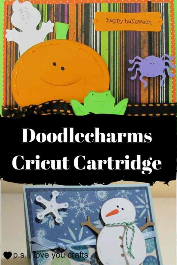 The Doodlecharms Cricut Cartridge has die cuts for Valentine's Day, Halloween, Easter, Christmas, Thanksgiving, Winter, Spring, Summer, Fall, and School. Definitely buy this one!