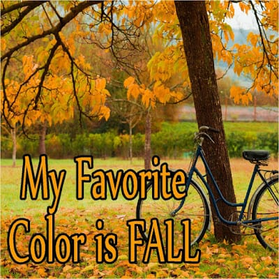 Fall Journaling Card by Kandy Kreations - Here are 20 Fall Paper Crafts to enjoy with your friends and family. Fall Home Decor, Fall and Thanksgiving Handmade Cards, Fall Printables, Kids' Crafts leaves, pumpkins, feathers, and so much more!