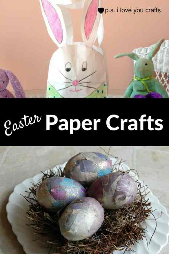 Easter Paper Crafts are so fun and easy to make. Here's a variety of cards, printables, and home decor to keep you and the kids busy.