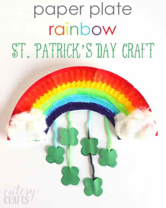 St Patricks Day Paper Crafts Ps I Love You Crafts
