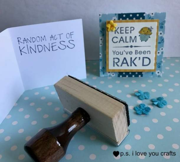 Make these Random Acts of Kindness Cards to hand out when doing nice things in your community. They are 3x3 and will fit easily into your purse or pocket. Be.Kind.Always.