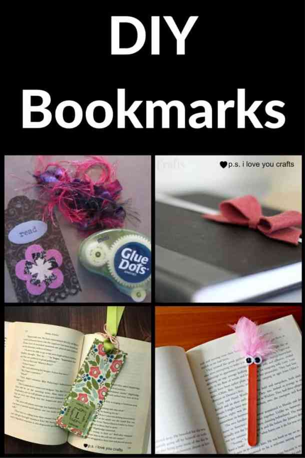 Here are 10+ DIY Bookmark ideas for making handmade bookmarks. There are printables, paper bookmarks, cool bookmarks, and more.