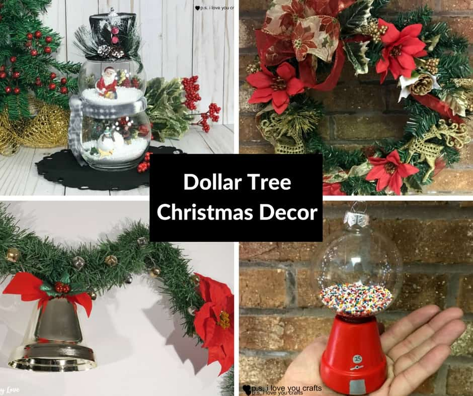 Dollar Tree Christmas Decor And Gift Ideas: DIY Dollar Tree Christmas Decorations