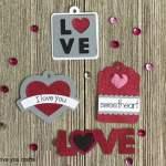 Cricut Valentine Treat Tags