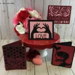 Easy Cricut Valentine Cards