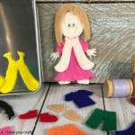 Felt Dolls Using the Cricut Maker