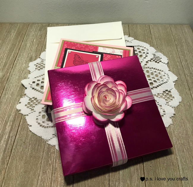 Make Paper Roses With The Cricut P S I Love You Crafts