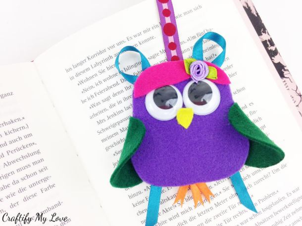 creative activity for kids motivation for summer reading crafting a lady owl bookmark