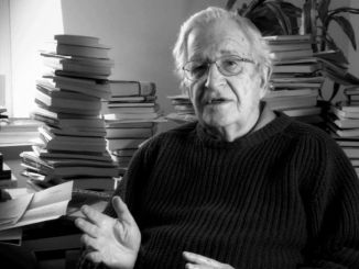 Chomsky hablando sobre educación