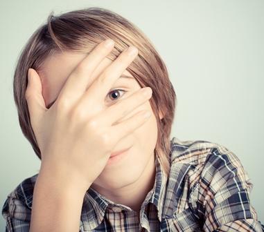 shyness; Shutterstock ID 265027469