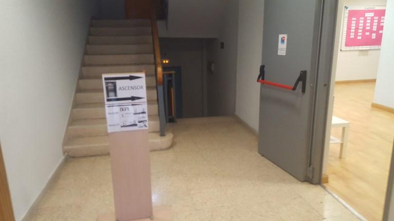 Ingreso edificio – Psise Madrid (2ª planta)