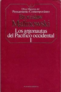 """Portada del libro """"Argonautas del Pacífico Occidental - Malinowski"""