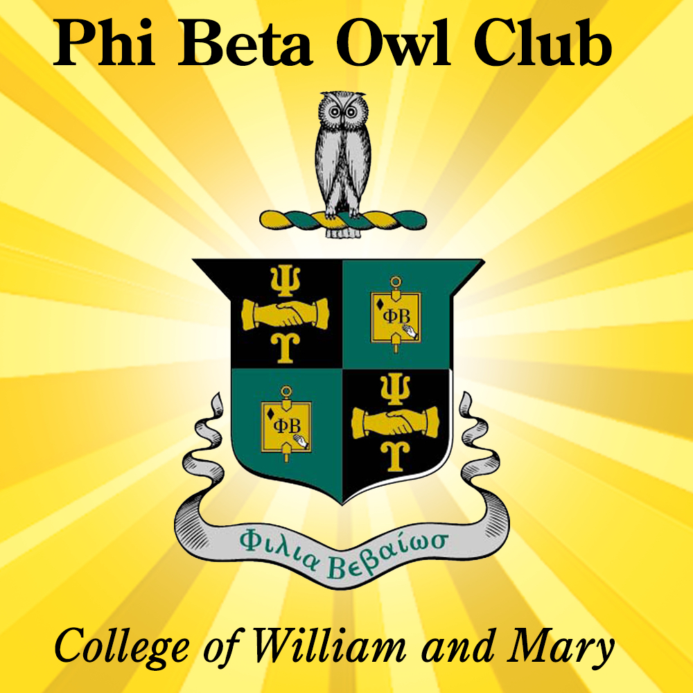 Psi Upsilon returning to the College of William and Mary!