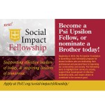 2020 Social Impact Fellowship Applications Live!