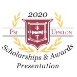 10.23.2020 – Fall Psi Upsilon Awards Presentation