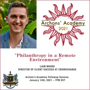"""1.14.2021 – """"Philanthropy in a Remote  Environment"""""""