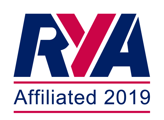 RYA logo showing this is an affiliated club in 2019