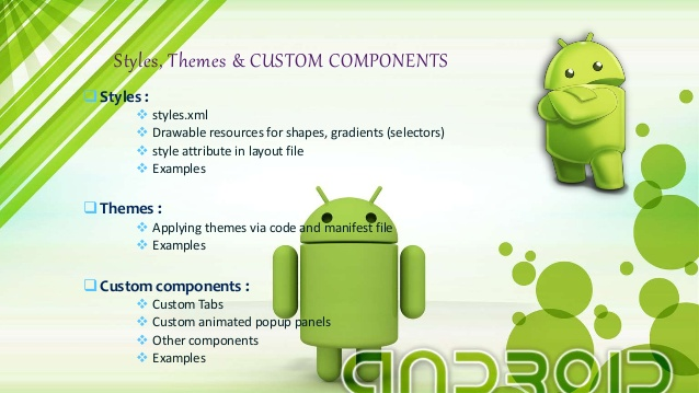 Creating Custom Components in the PSLab Android App