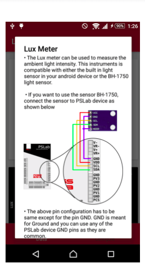 Making custom dialog boxes in PSLab app