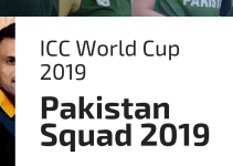 Pakistan Squad For World Cup 2019