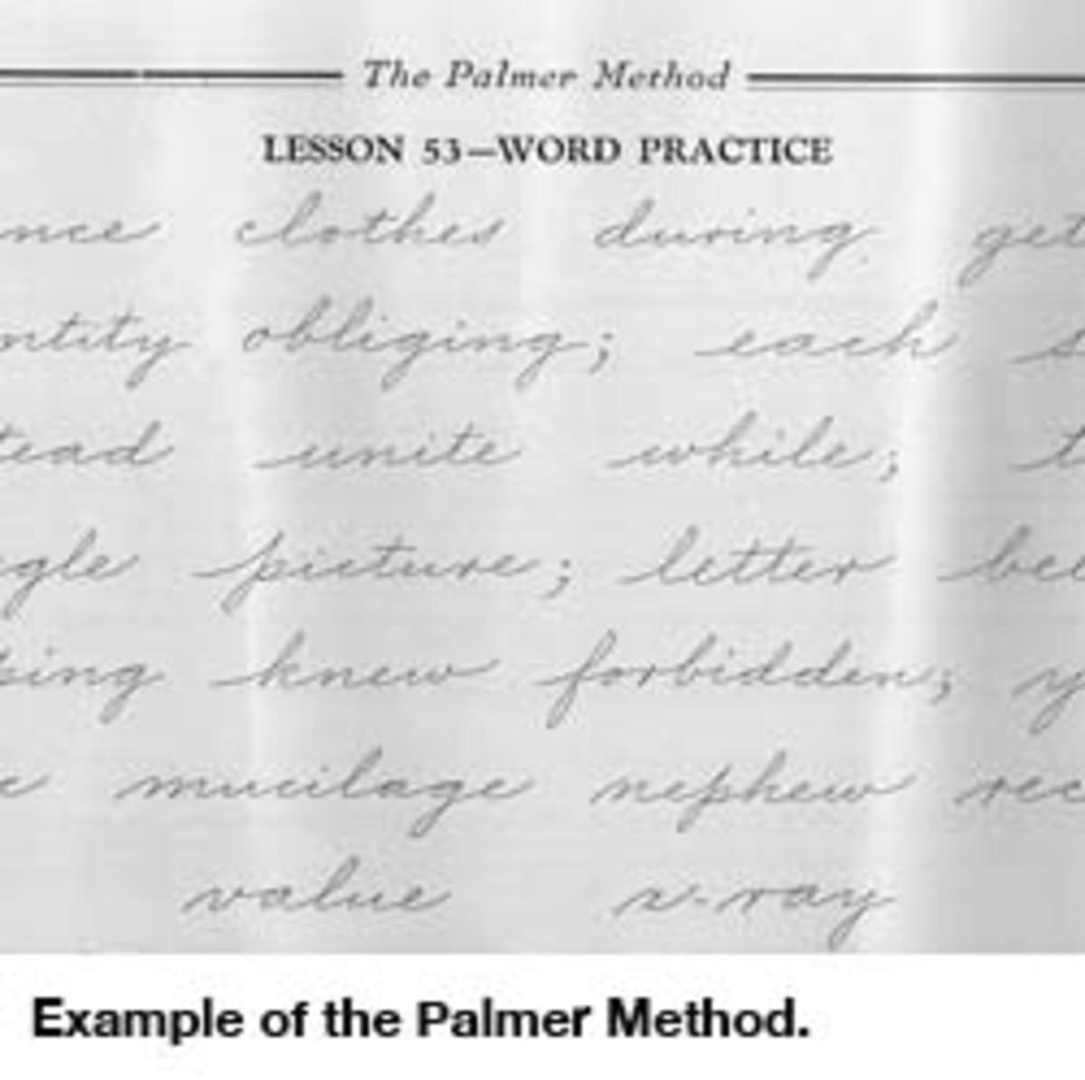 Handwriting Is History