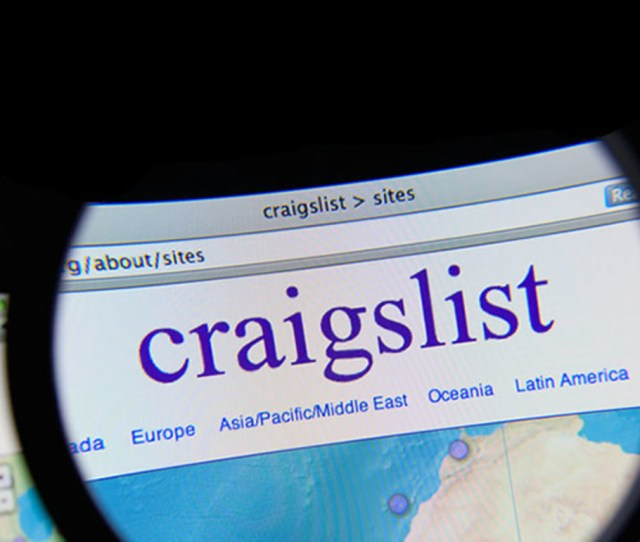 Craigslist Photo Gil C Shutterstock