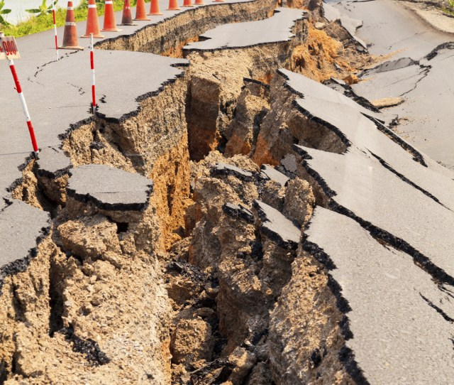 A Seismic Network Capable Of Precise Locations Of Small Earthquakes Could Reveal The Presence Of A Large Possibly Dangerous Fault Being Reactivated Due