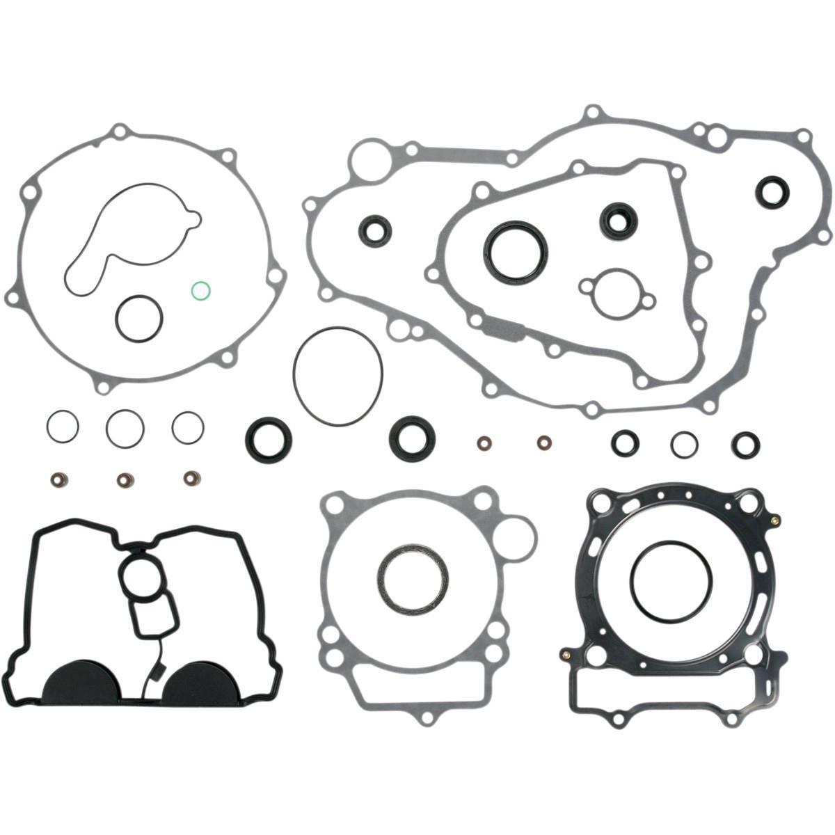 03 06 Yamaha Wr450f Moose Racing Gasket Kit Set W Oil