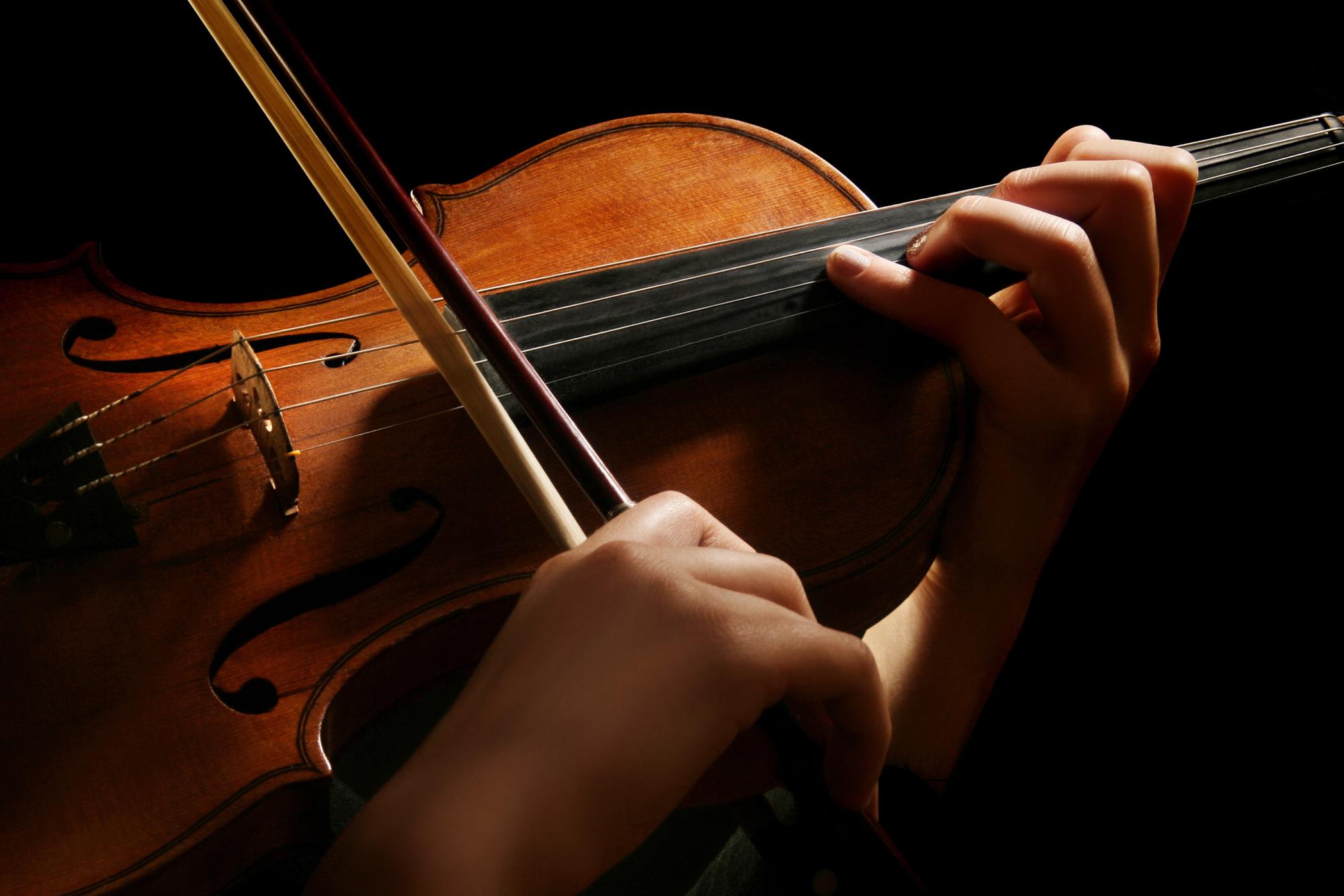 Ruszyła sekcja skrzypiec !