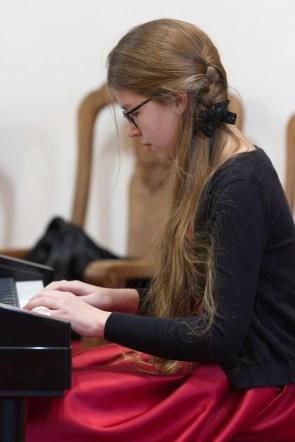 Emilia Świder - sekcja pianina fot. Paweł Mieszczakowski