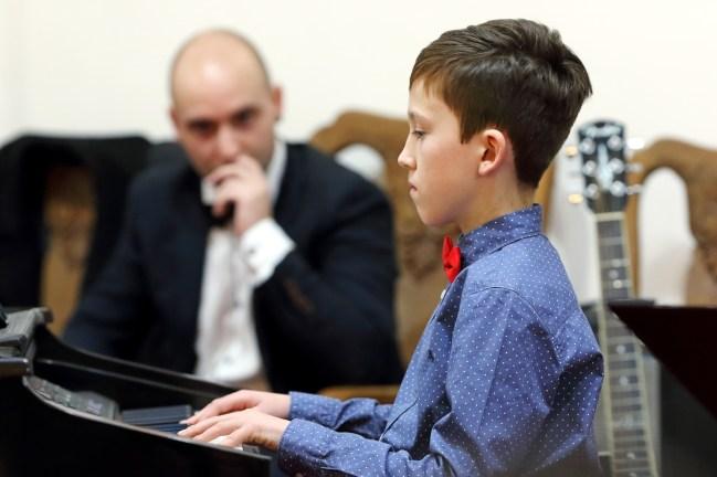 Ksawery Rasiński - sekcja pianina fot. Paweł Mieszczakowski