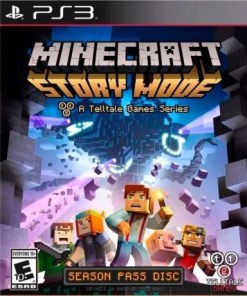Minecraft Story Mode Episodio 1 al 5 PS3