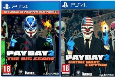 PAYDAY 2+CRIMEWAVE EDITION+THE BIG SCORE PS4