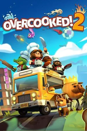 Overcooked! 2 cover art