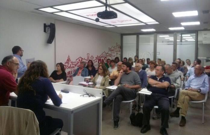 Imatge d'Arxiu assamblea PSOE Maó tria nova executiva
