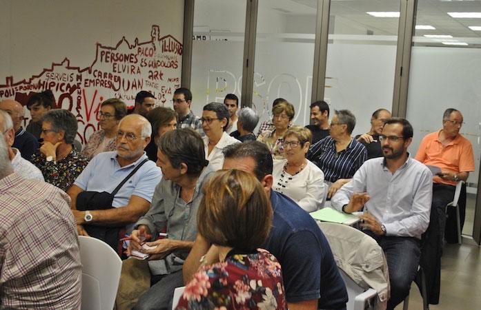 Assamblea del PSOE Maó Héctor Pons Riudavets