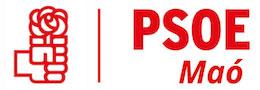 Logo PSOE Maó 2017